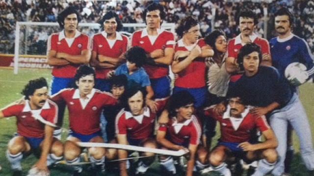 Resultado de imagen para seleccion chilena en la Copa america 1979