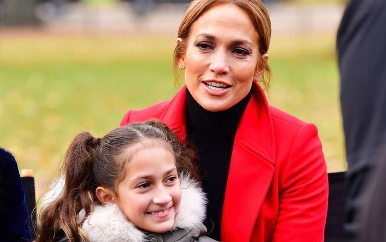 "Jennifer Lopez en la polémica por ""obligar"" a su hija a cantar"