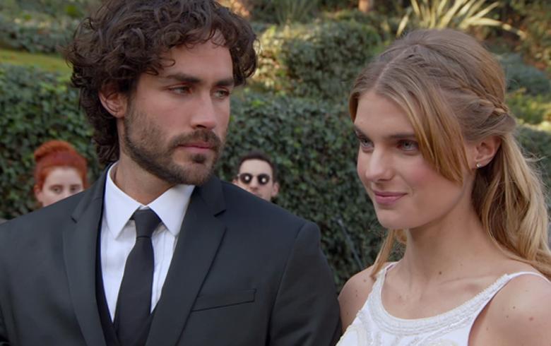 """Dafne no pudo impedir el matrimonio de Rafael en """"Amor a la Catalán"""""""