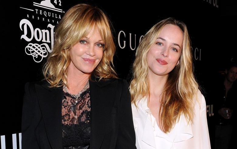 Melanie Griffith y Dakota Johnson: