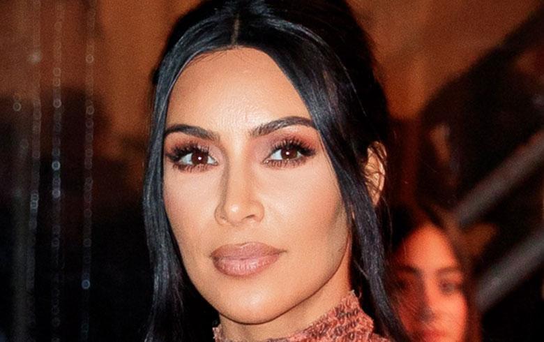 Kim Kardashian lleva el animal print al extremo