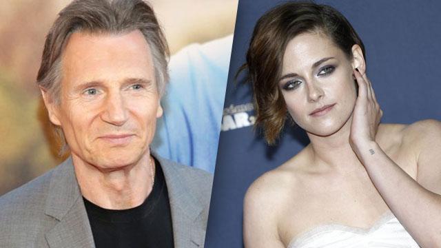 Aseguran que Kristen Stewart está saliendo con Liam Neeson