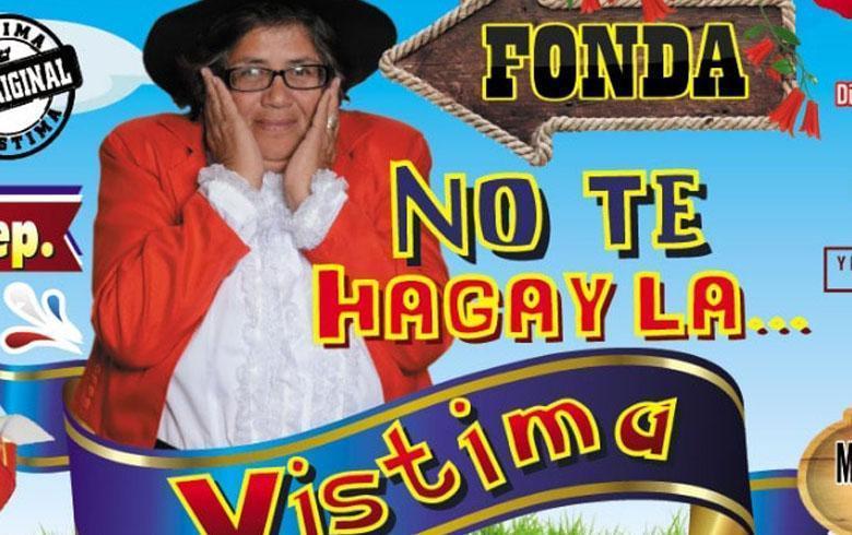 """Mujer del viral """"vístima"""" inaugura su propia fonda"""
