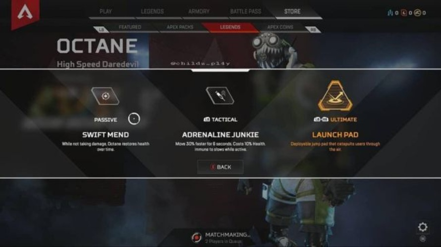 She Leaps The Next Legend For Apex Legends Chaali