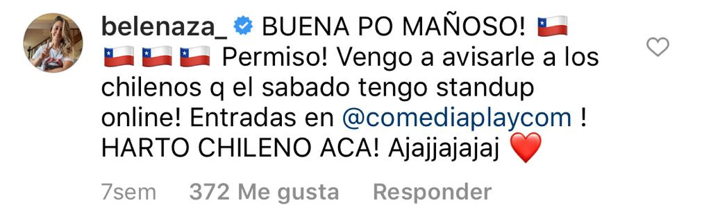 Belén Mora aprovecha trolleo a Adam Levine para promocionar shows