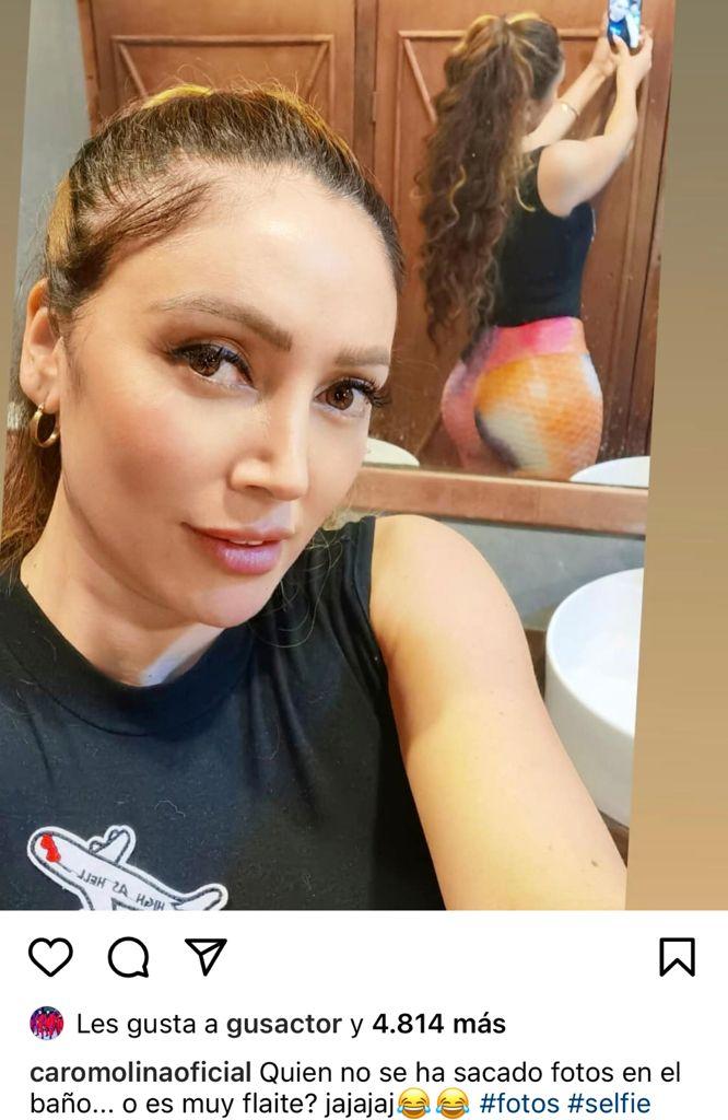 """""""¿Muy flaite?"""": Rancherita se luce con foto de su trasero"""