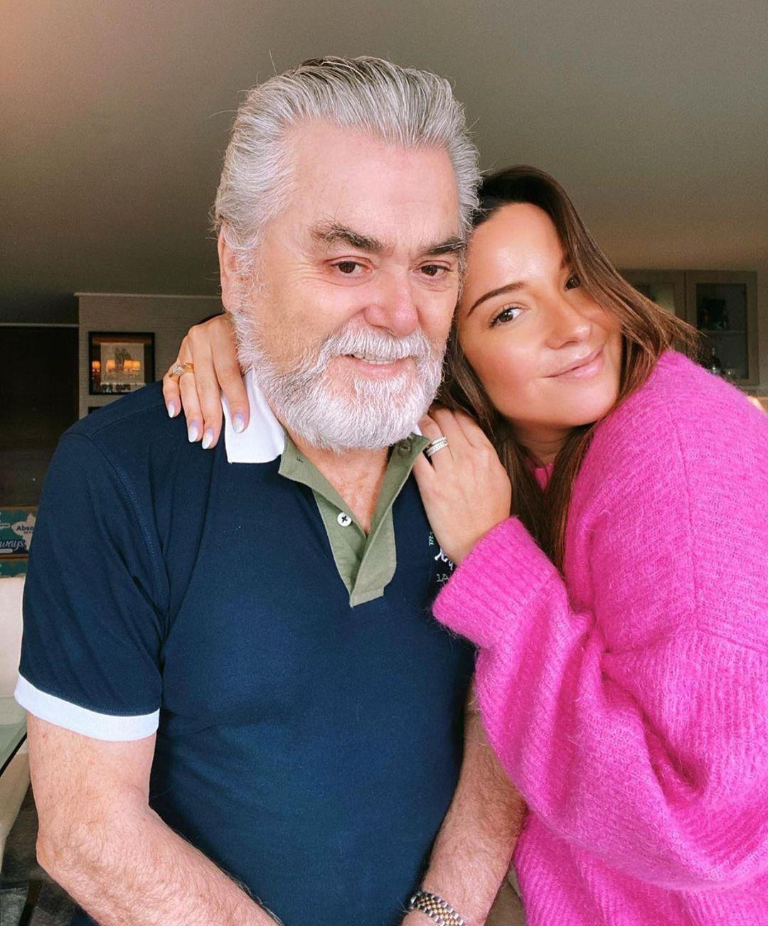 Kel Calderón rompe el silencio sobre el quiebre con su padre