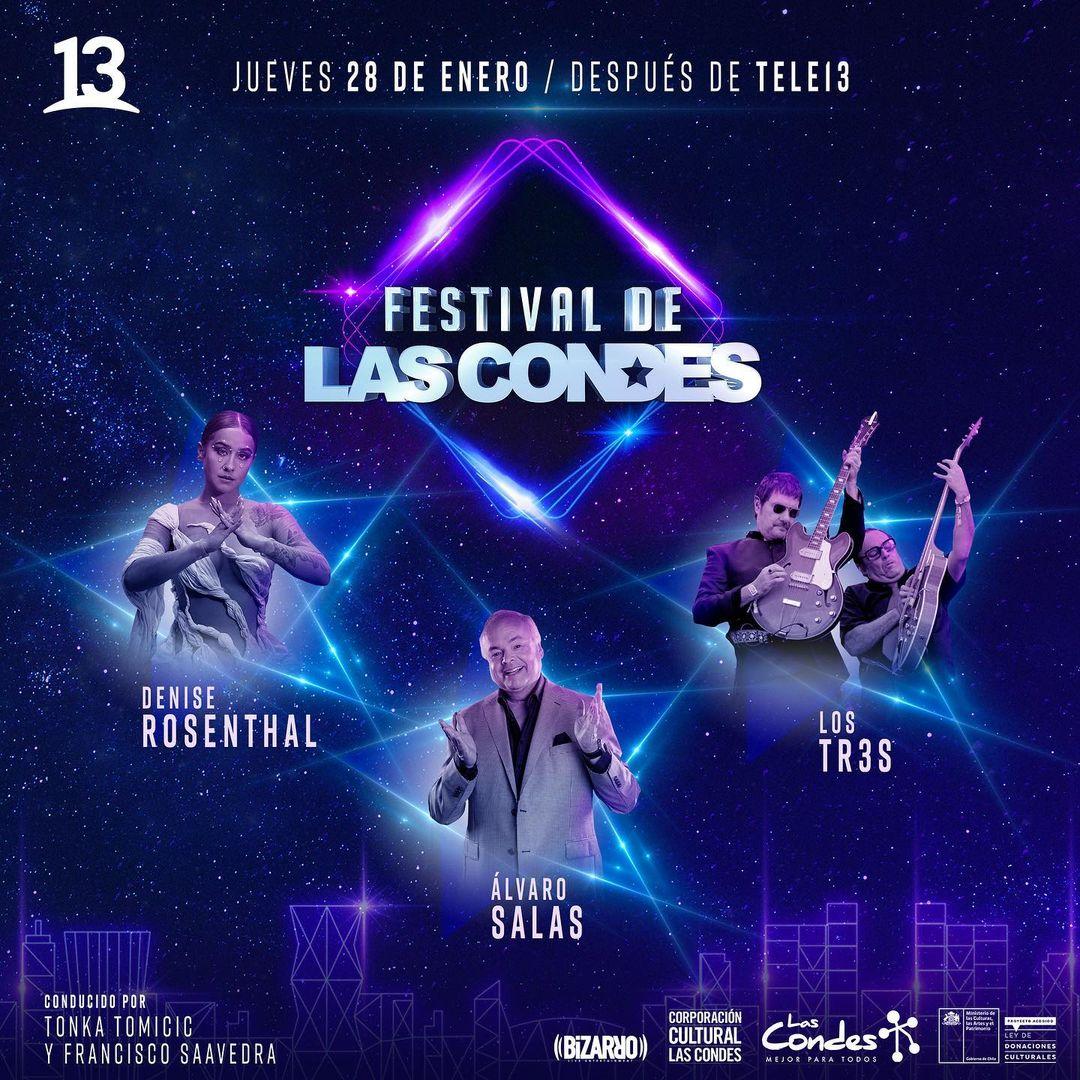 Así puedes ser parte del público del Festival de Las Condes 2021