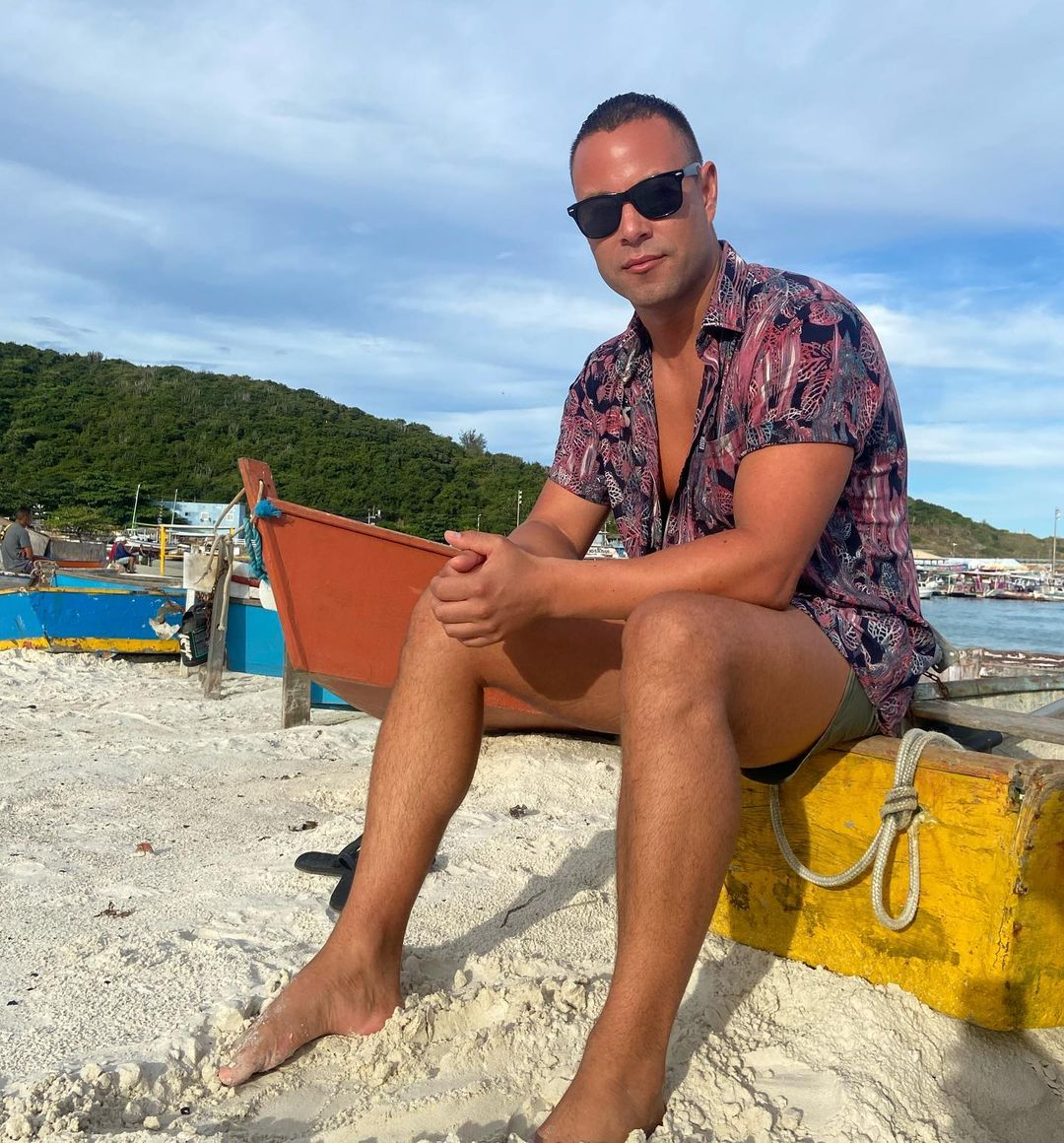 Rodrigo Díaz festeja 3 años de pololeo con romántica postal