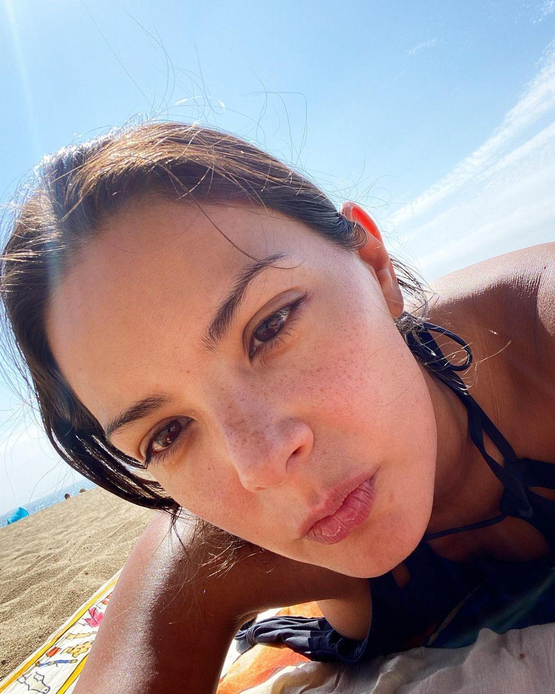 Carolina Arredondo muestra el look actual de su hija clon