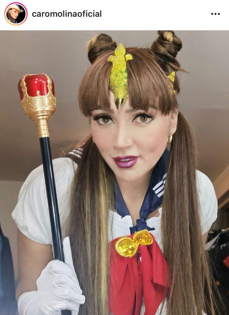 La Rancherita se luce con look a lo Sailor Moon