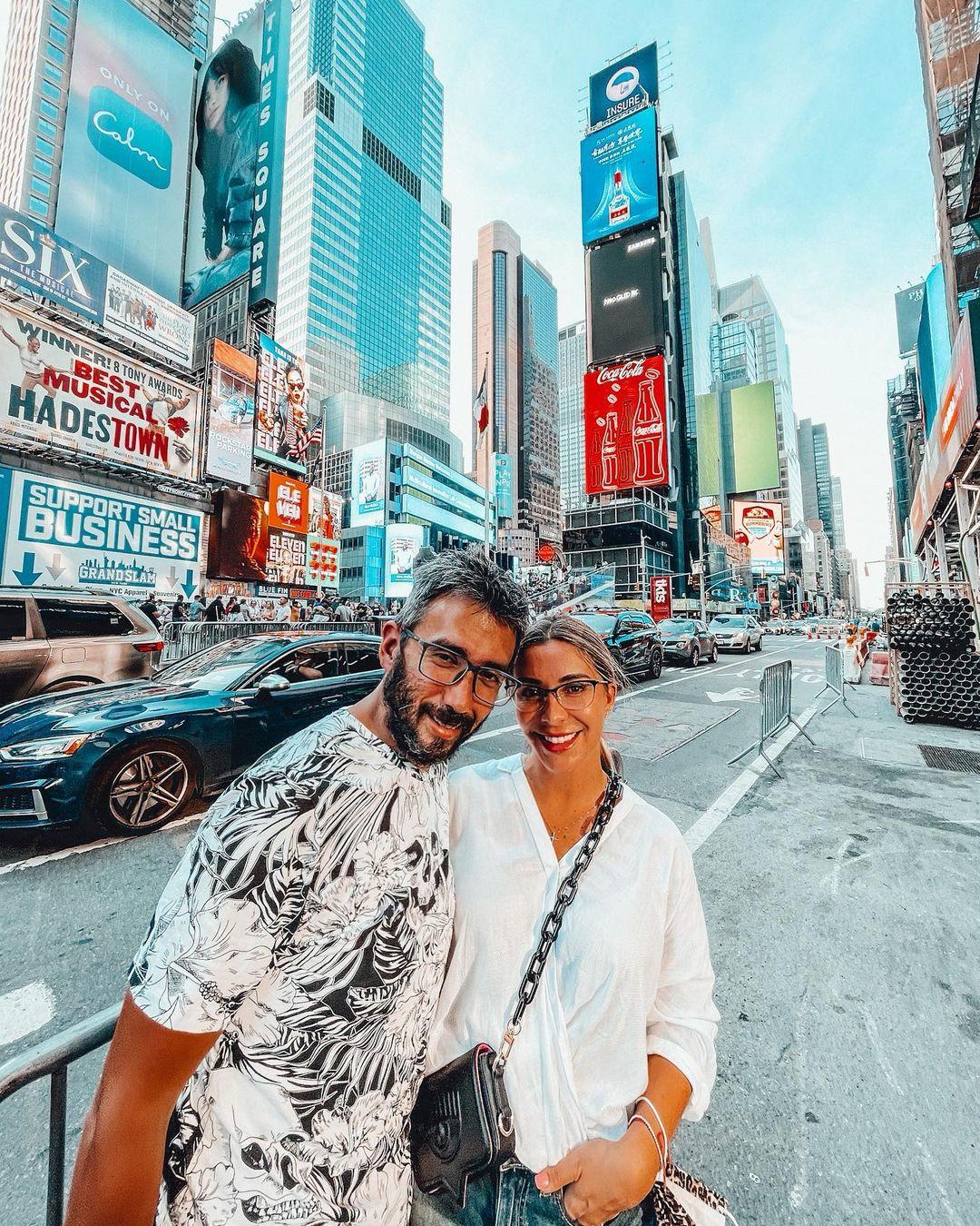 Dani Urrizola y su marido se cambian de nombre al trabajar juntos
