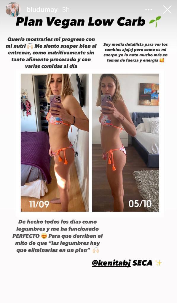 Hija de María Alberó se muestra en bikini sin retoque alguno