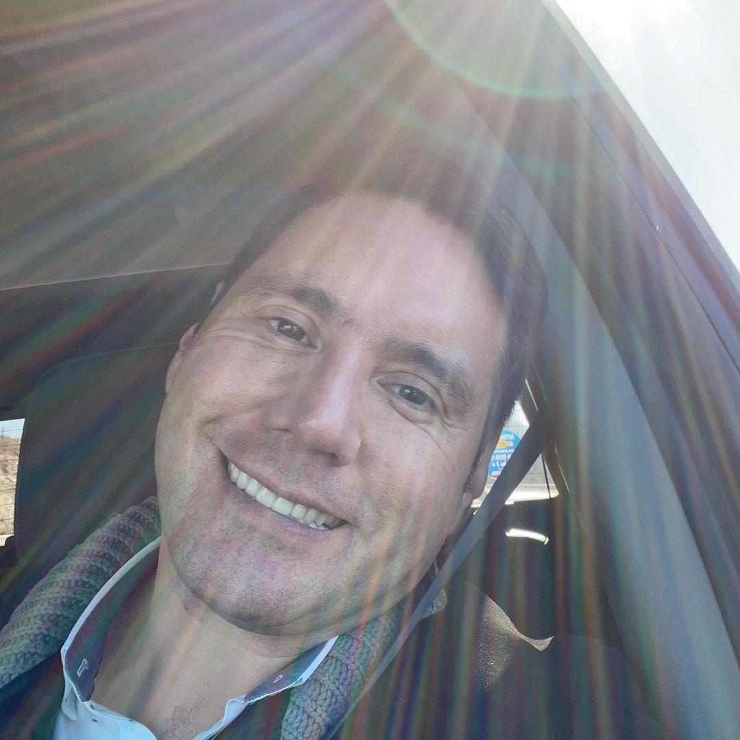 Pancho Saavedra y su foto con un supuesto fantasma