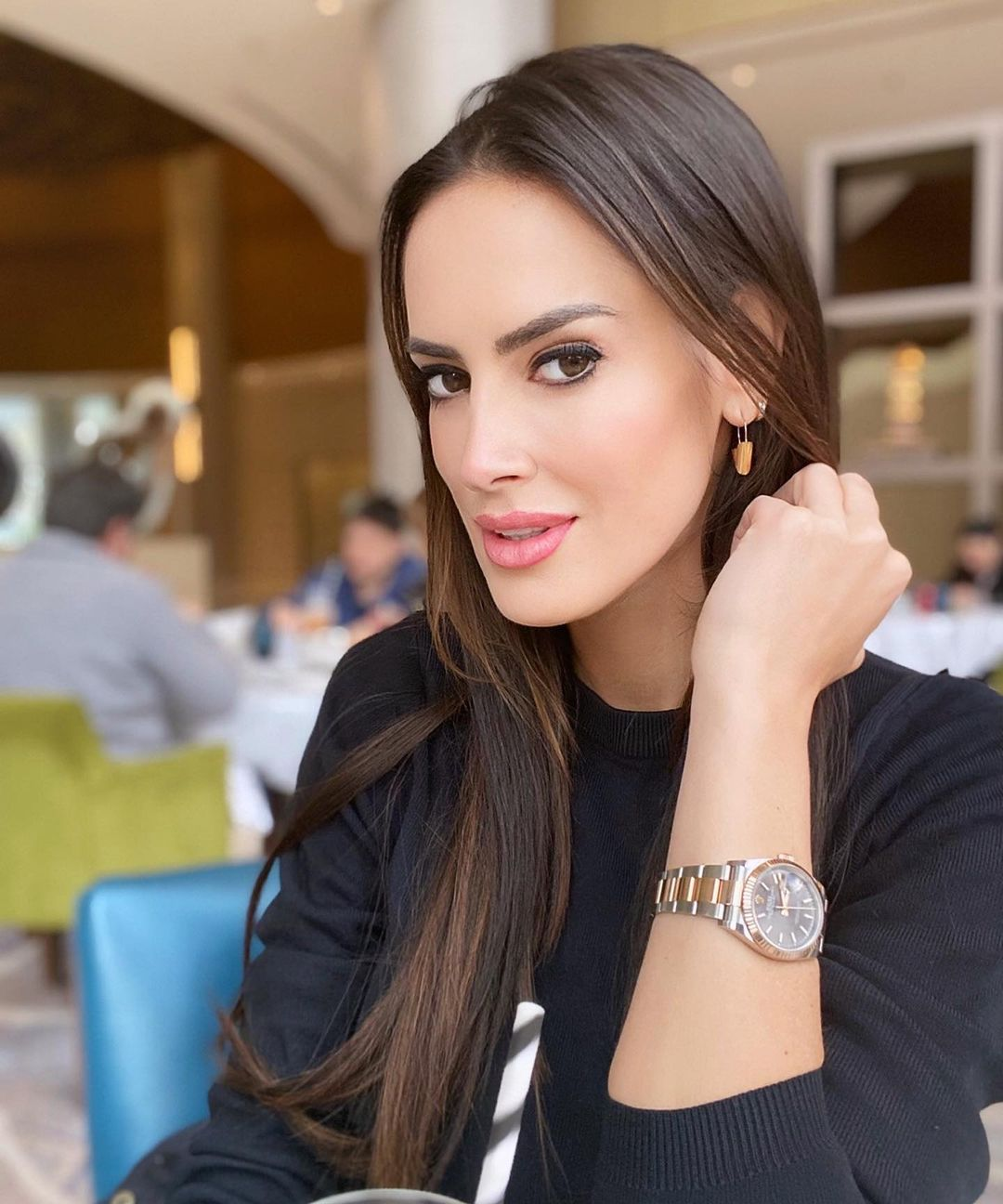 Adriana Barrientos asegura que no saldría con hombre que no pague la cuenta
