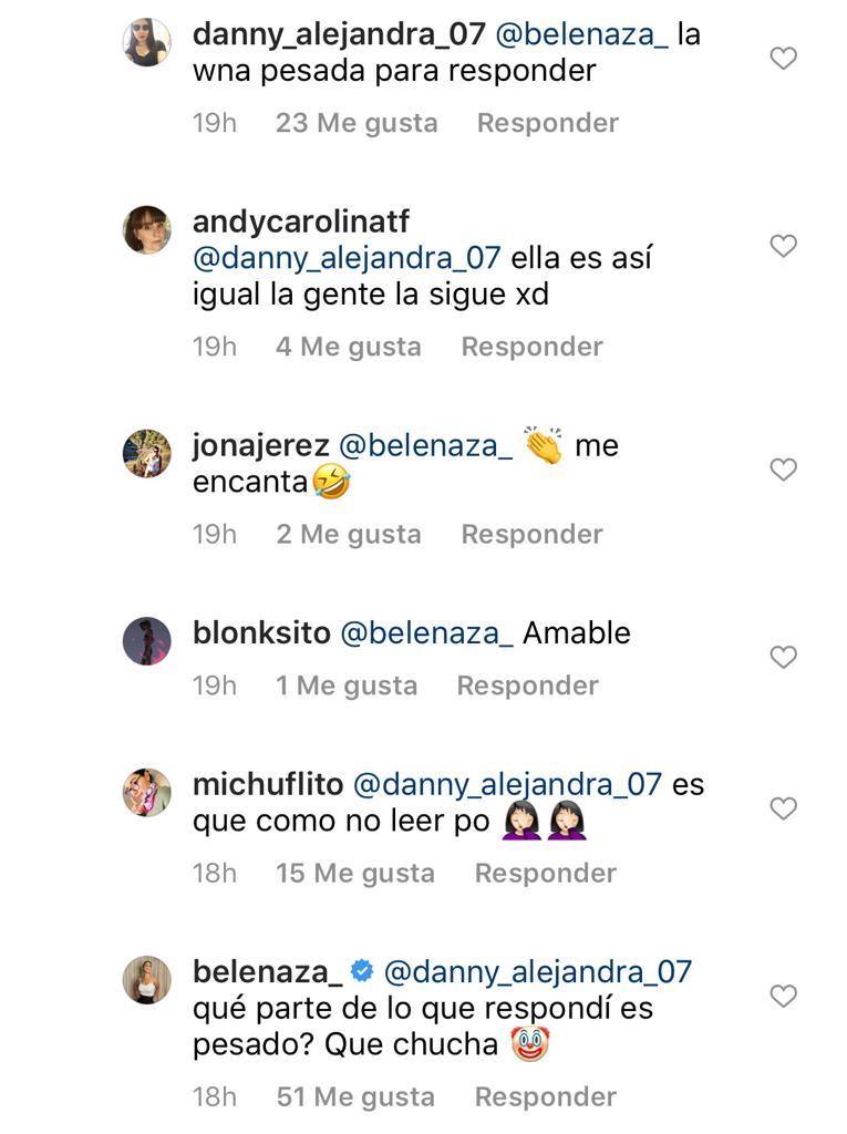 Comentarios Belén Mora