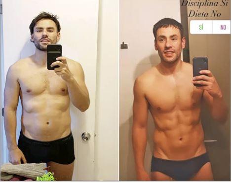 Claudio Valdvia explica cómo logró bajar 5 kilos en cinco meses