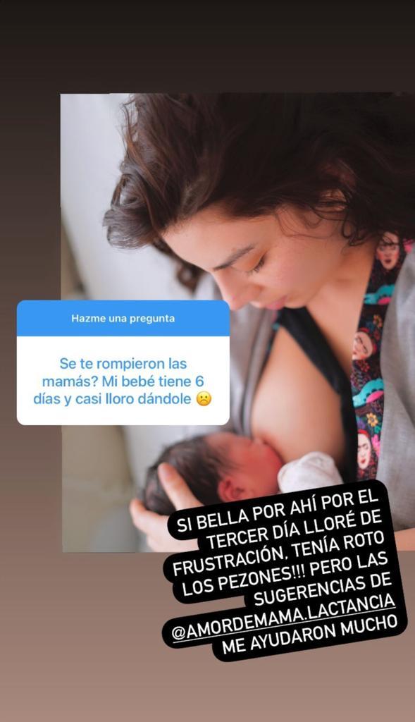 """""""Cambio radical"""": Los primeros días de Kathy Contreras como madre"""