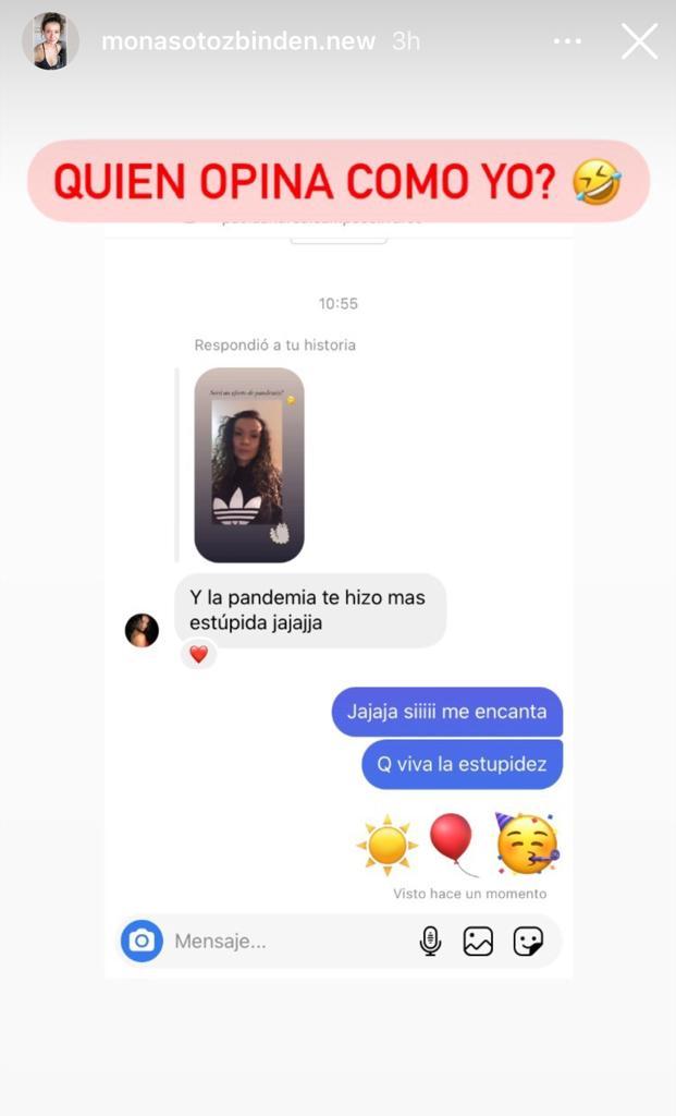 Mónica Soto reacciona a insólito comentario sobre su cuerpo