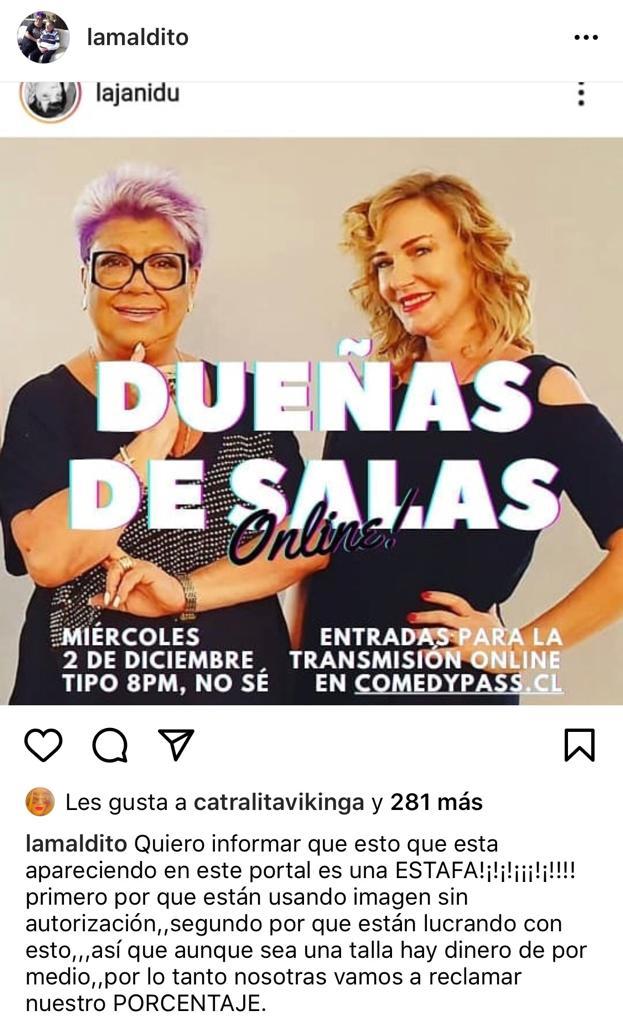 Patricia Maldonado y Jani Dueñas protagonizan nueva polémica
