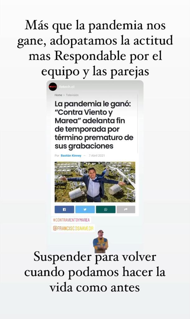 Pancho Saavedra aclara futuro de uno de sus programas estrella