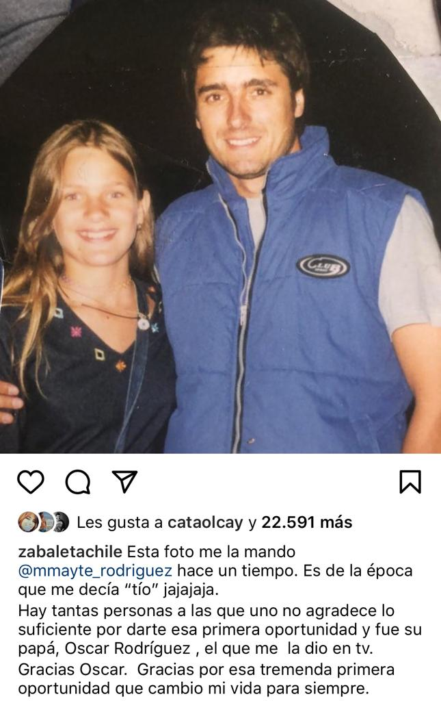 Jorge Zabaleta sorprende con foto junto a Mayte Rodríguez