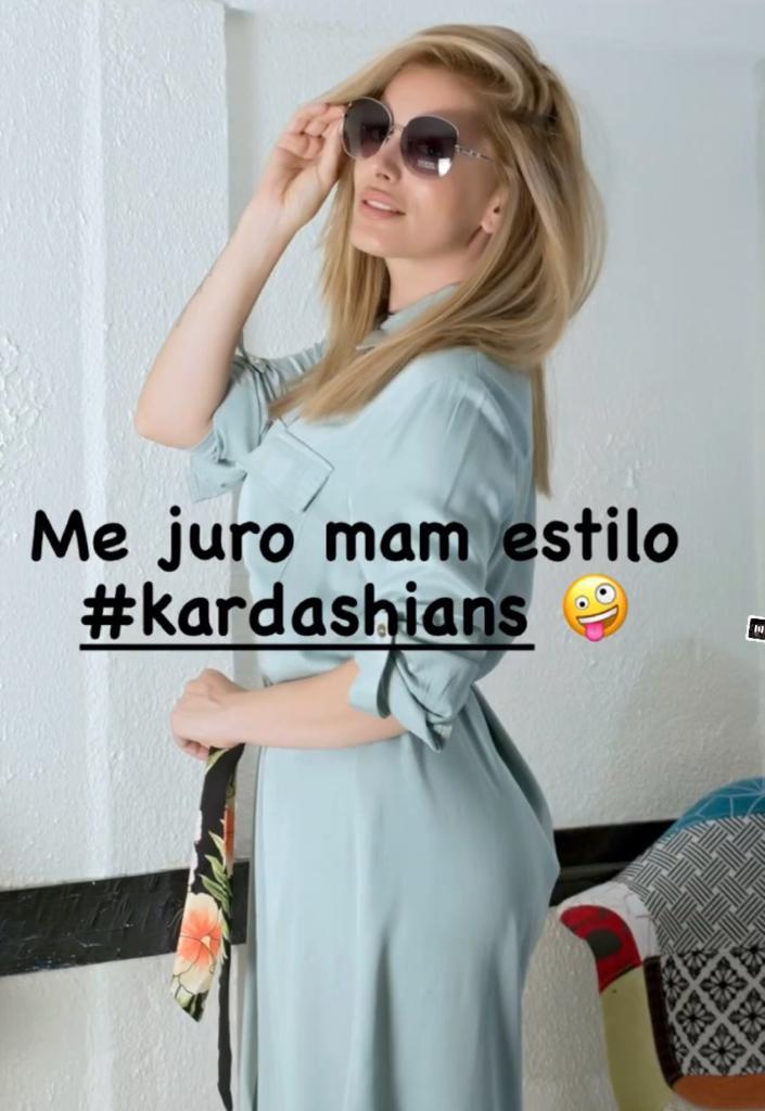 Catalina Palacios se la juega con look tipo Kardashian