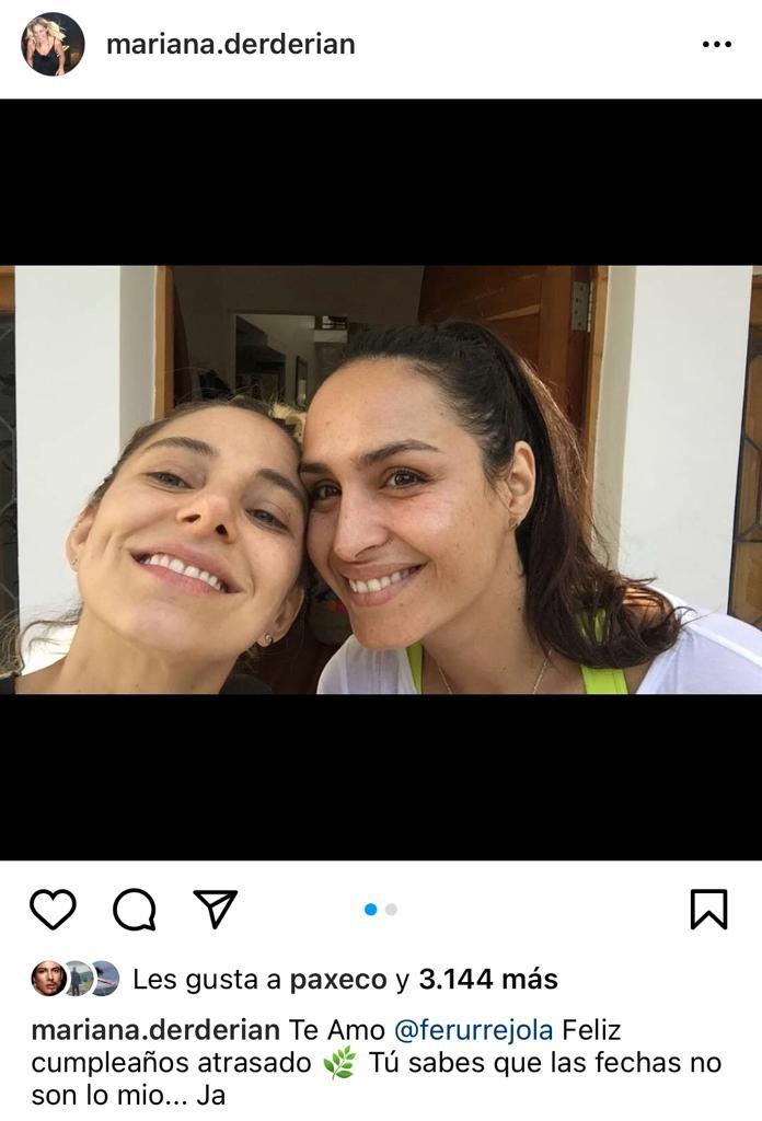 """""""Las fechas no son lo mío"""": Mariana Derderián revela confusión"""