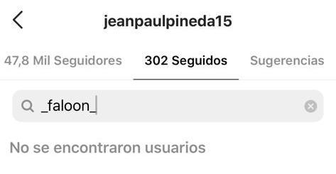 Surgen rumores de quiebre entre Faloon Larraguibel y Jean Paul Pineda