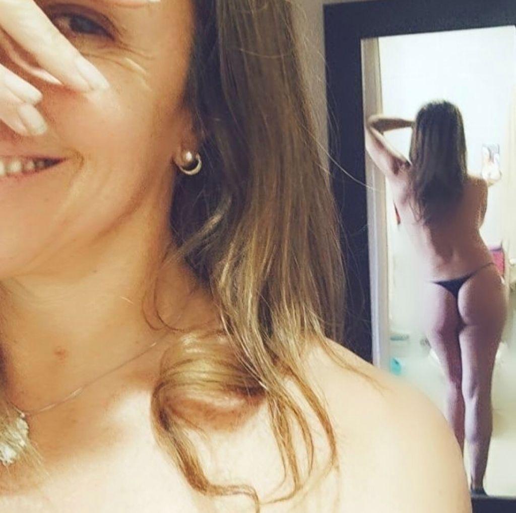 Yuyuniz Navas muestra su trasero para empoderar a la mujer