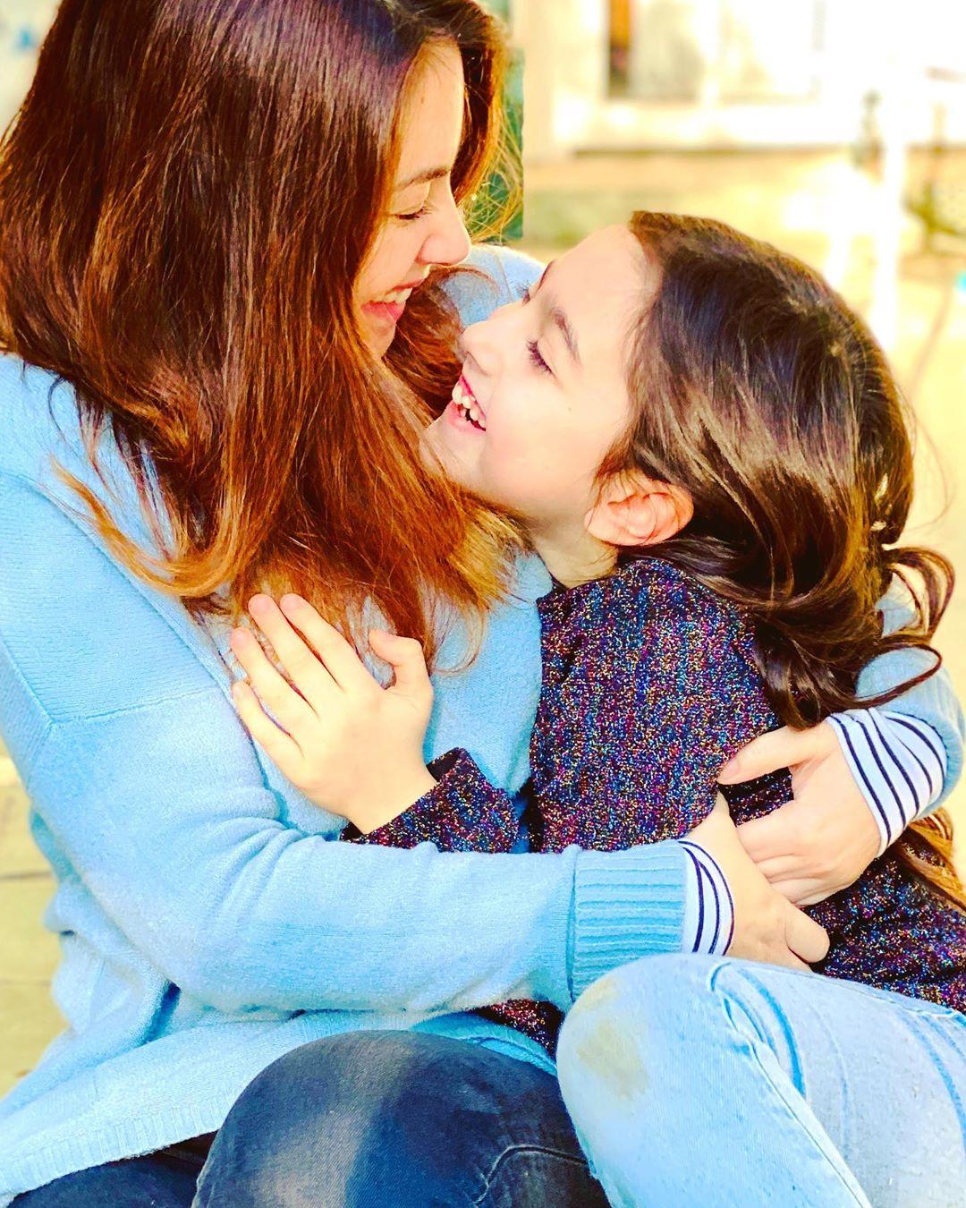 Mónica Godoy y su hija