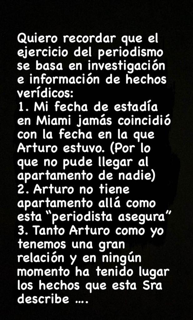 Ex polola de Arturo Vidal se lanza contra Cecilia Gutiérrez