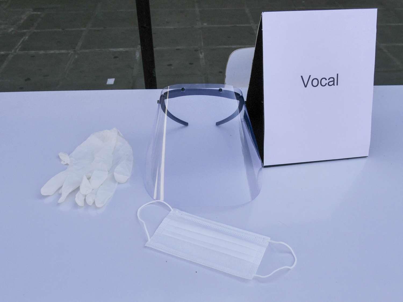 vocales de mesa