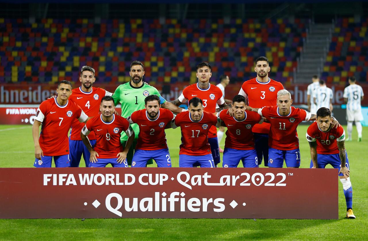 Chile Formación Copa América