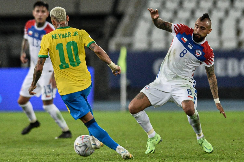 """Neymar: """"Chile es un gran equipo, fue un partido muy difícil"""""""