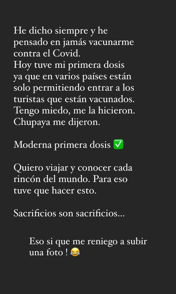 """""""Sacrificios"""": Leo Méndez Jr. tuvo que vacunarse contra el Covid"""