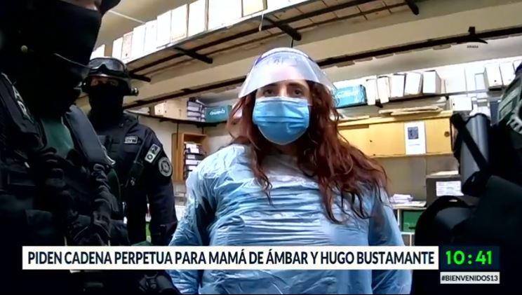 Caso Ámbar: Piden cadena perpetua para su madre y Hugo Bustamante