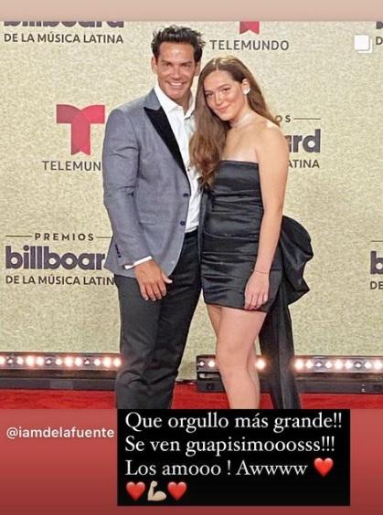 Laura de la Fuente deslumbra en los Billboard Latinos