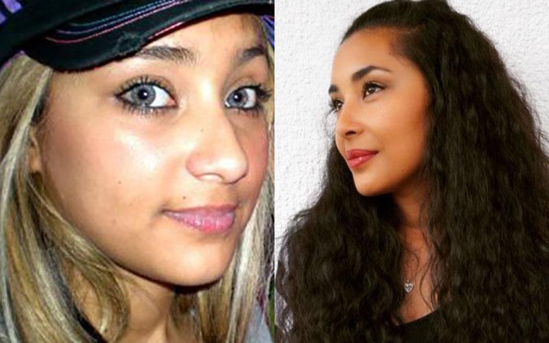 arenita antes y después