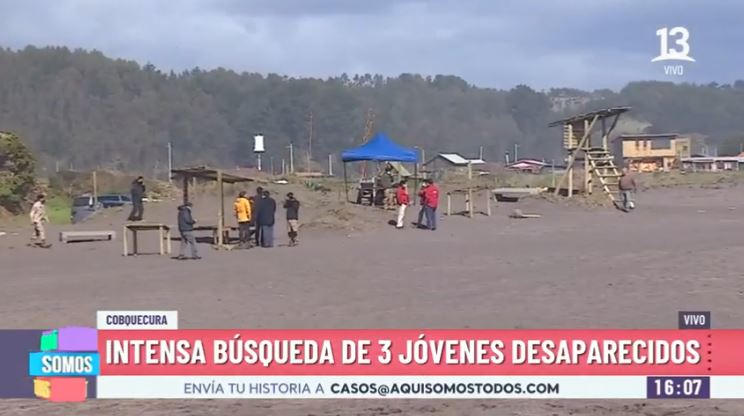 Jóvenes desaparecidos en Cobquecura: Confirman hallazgo de prendas de ropa