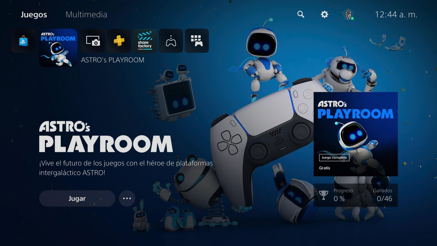 Astro Playroom PS5