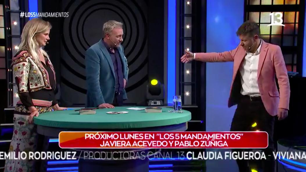 Javiera Acevedo y Pablo Zuñiga recordarán más de 20 años de amistad
