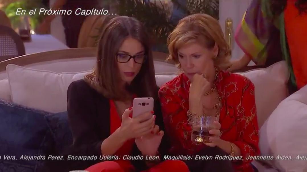 Valerio le advertirá a Soledad sobre su amistad con Mabel