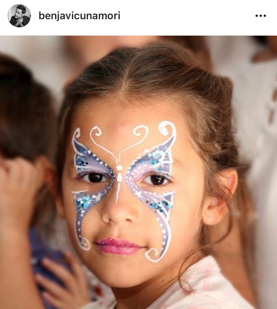 Benjamín Vicuña se tatúa para homenajear a su hija Blanca