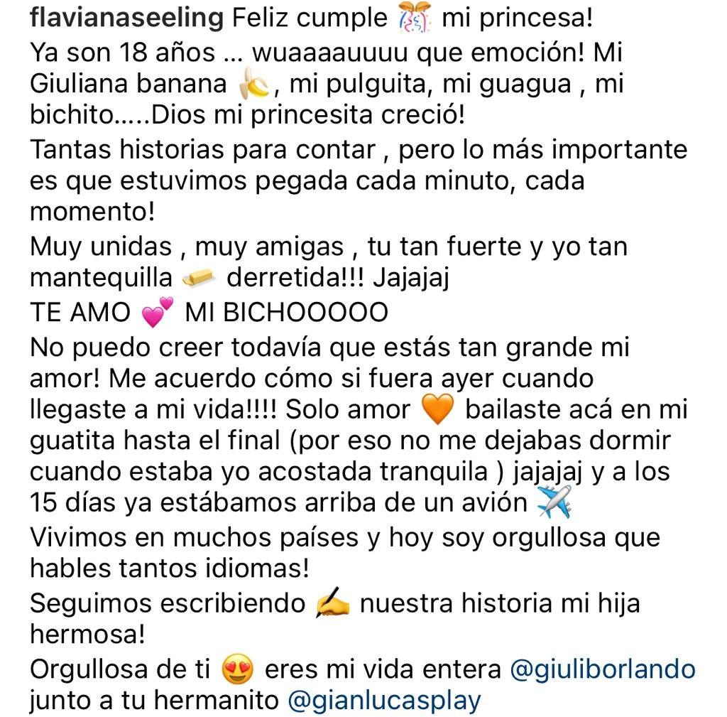 Flaviana Seeling celebra cumpleaños de su hija con doble bikinazo