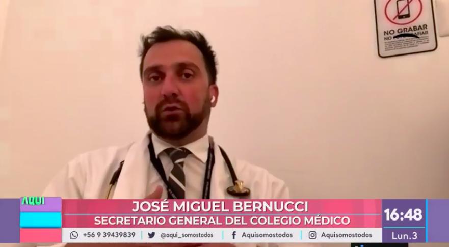 dr. Bernucci y desconfinamiento día de la madre