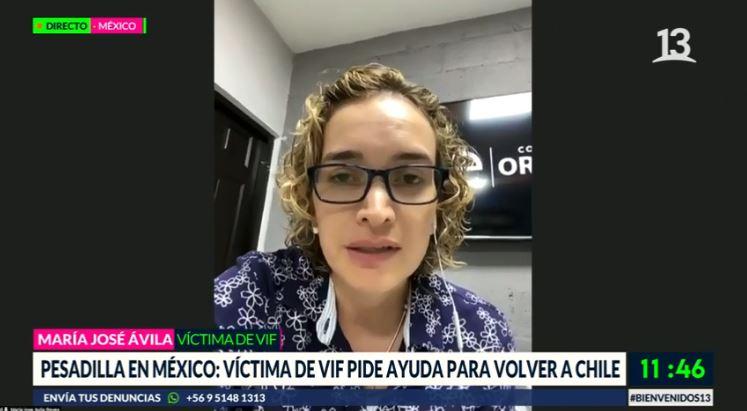 Duro testimonio de chilena víctima de violencia intrafamiliar en México