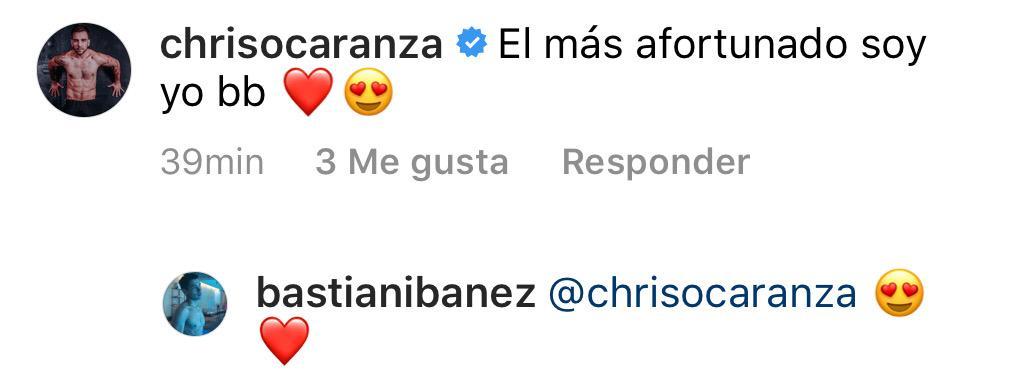 Pololo de Christian Ocaranza le dedica romántico mensaje