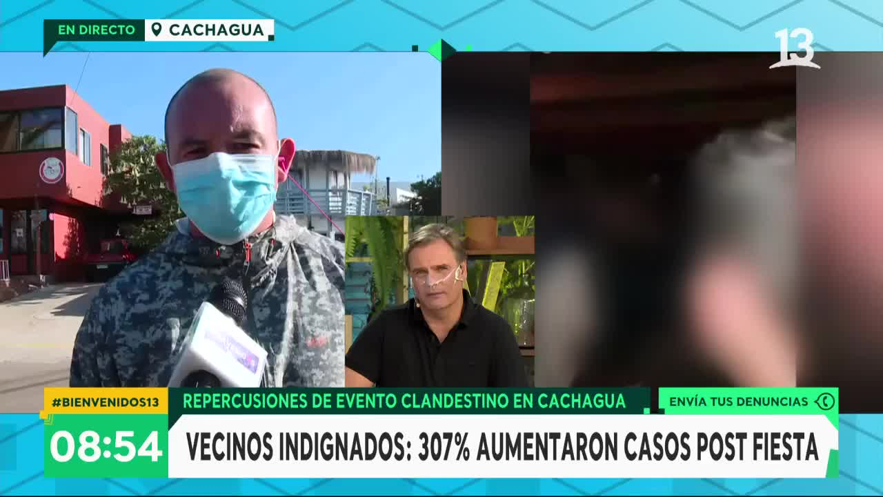 Vecino de Cachagua denunció haber recibido amenazas