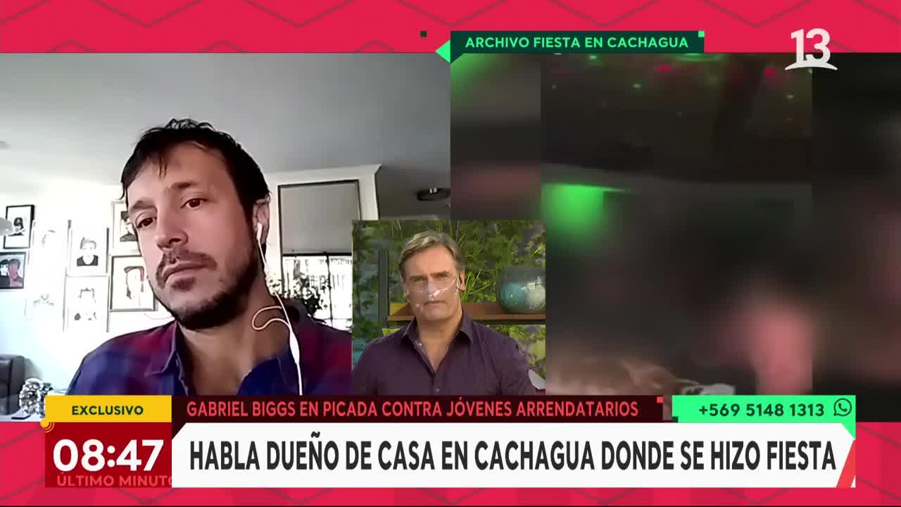 Propietario de casa en Cachagua recibió amenazas de Samuel Israel